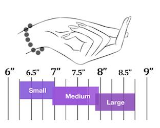 Image result for bracelet guide chart